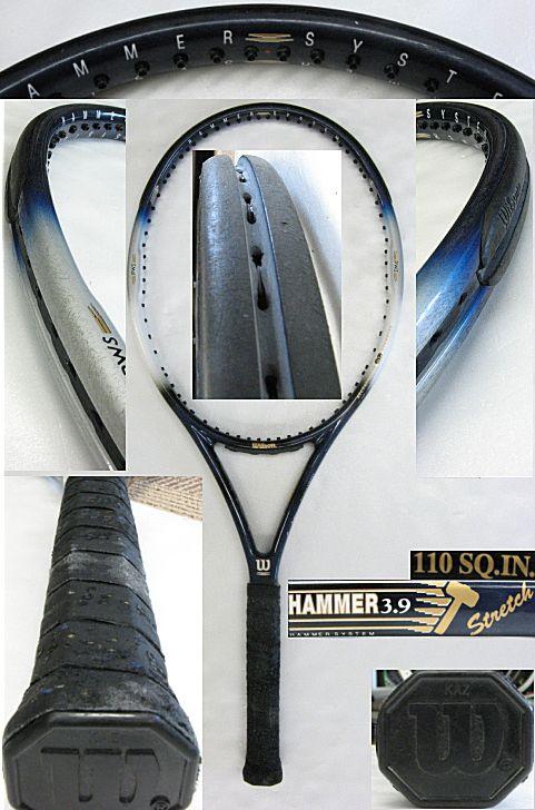 【中古テニスラケット】ウイルソン ハンマー3.9ストレッチ HAMMER3.9Stretch