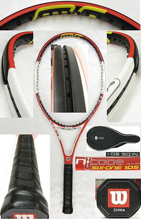 【中古テニスラケット】ウイルソン エヌシックスワン105 nSIX-ONE105