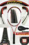 【中古テニスラケット】ウイルソン ・nSIX-ONE105