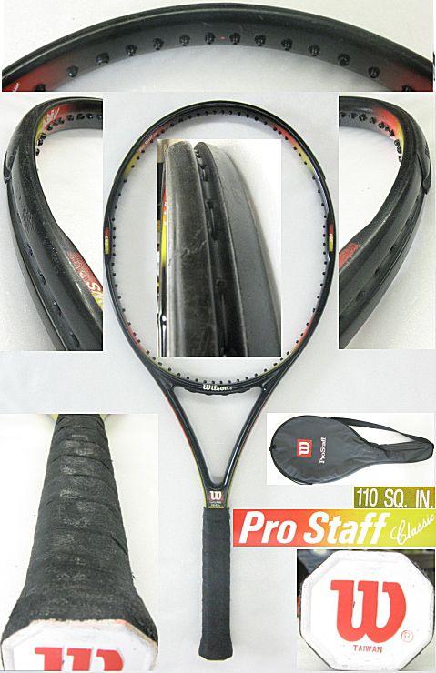 【中古テニスラケット】プロスタッフ クラシック110 PROSTAFF Classic110