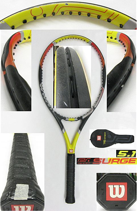 【中古テニスラケット】ウイルソン プロスタッフサージ5.1 Prostaff SURGE5.1