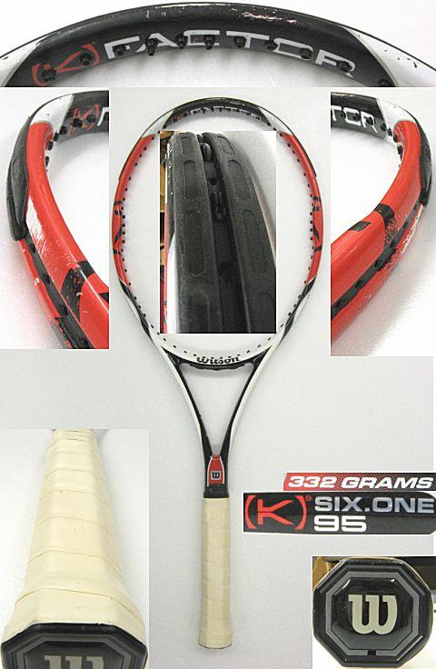 【中古テニスラケット】ウイルソン [K]シックスワン95US [K]SIX-ONE95US