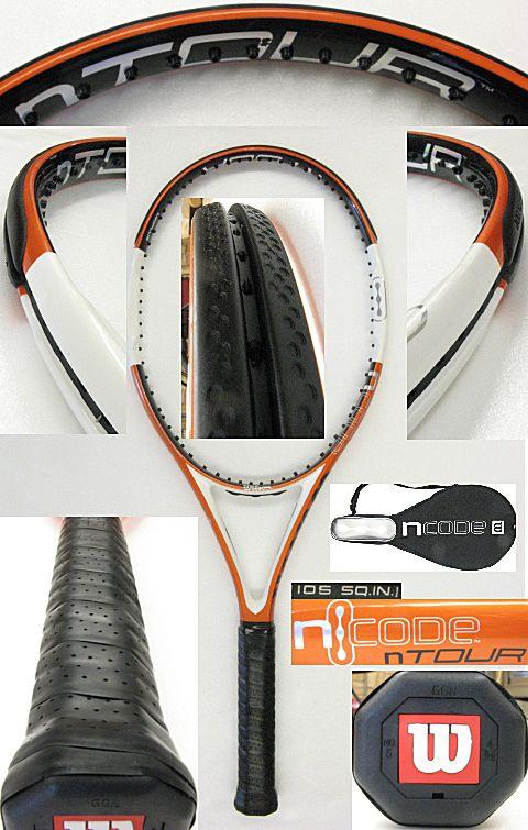 【中古テニスラケット】ウイルソン nツアー105(インポート) nTOUR105