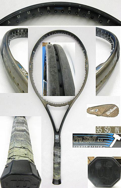 【中古テニスラケット】ウイルソン プロスタッフ4.0 Prostaff4.0