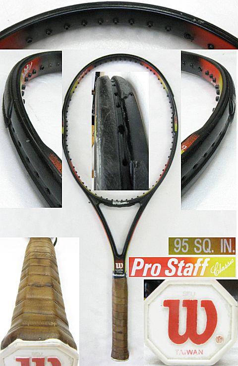 【中古テニスラケット】ウイルソン プロスタッフクラシック95 Prostaff Classic95