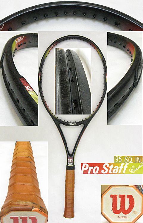 【中古テニスラケット】ウイルソン プロスタッフクラシック ProStaff Classic