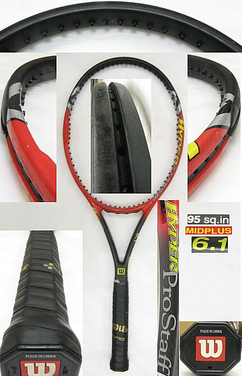 【中古テニスラケット】ウイルソン ハイパープロスタッフ6.1 HYPERProstaff6.1