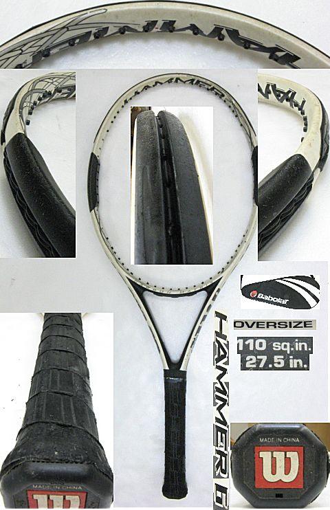 【中古テニスラケット】ウイルソン ハンマー6 HAMMER6