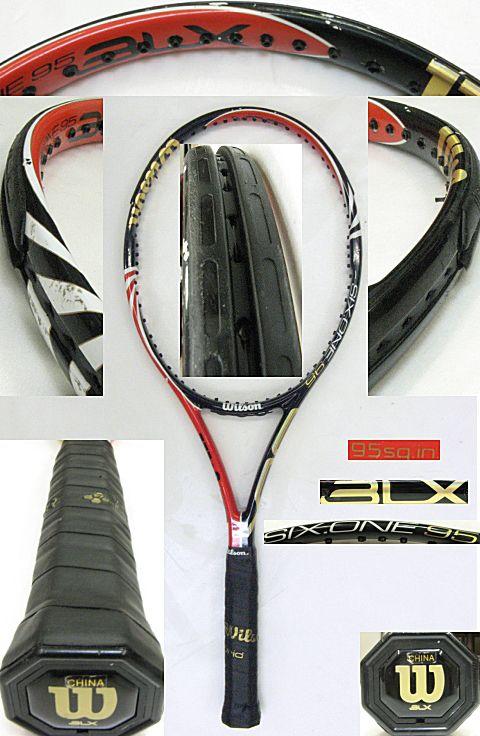 【中古テニスラケット】ウイルソン シックスワン BLX95 US SIX.ONE BLX95 US