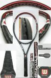 【中古テニスラケット】ウイルソン ・ハイパー プロスタッフ5.0 ストレッチ ミッドプラス