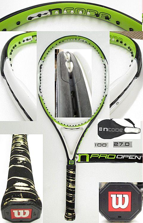 【中古テニスラケット】ウイルソン nPROオープン nPRO OPEN