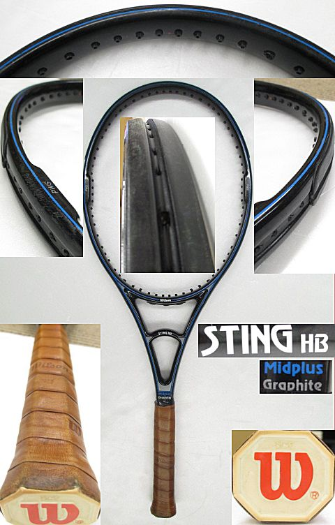 【中古テニスラケット】 ウイルソン スティングHB ミッドプラス STING HB MIDPLUS [W0760]