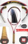 【中古テニスラケット】ウイルソン・nSIX-ONE95