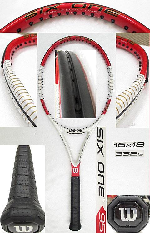 【中古 テニスラケット】 W0787 ウイルソン SIX.ONE 95 US (16×18)