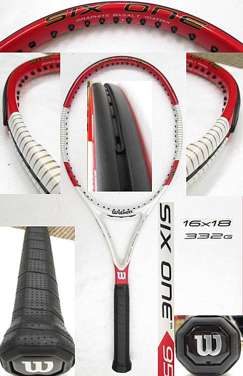 【中古 テニスラケット】 W0788 ウイルソン SIX.ONE 95 US (16×18)