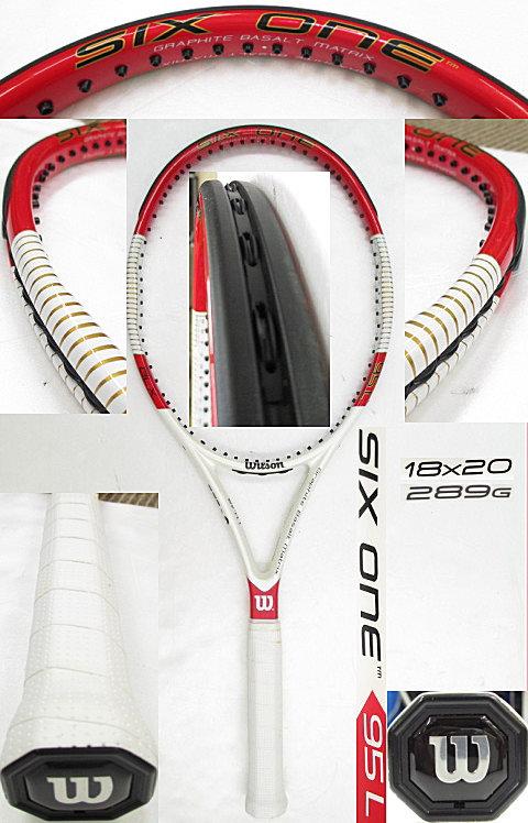 【中古 テニスラケット】 W0791 ウイルソン SIX.ONE 95L (18×20)海外モデル