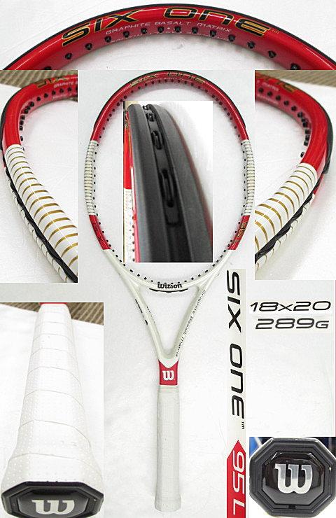 【中古 テニスラケット】 W0792 ウイルソン SIX.ONE 95L (18×20)海外モデル