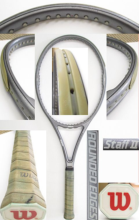 【中古 テニスラケット】 W0827 ウイルソン スタッフ2