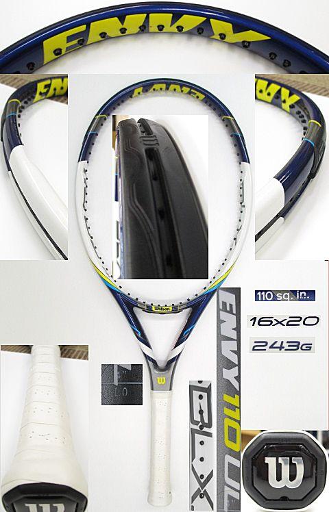 【中古 テニスラケット】 W0829 ウイルソン ENVY110UL(海外モデル)