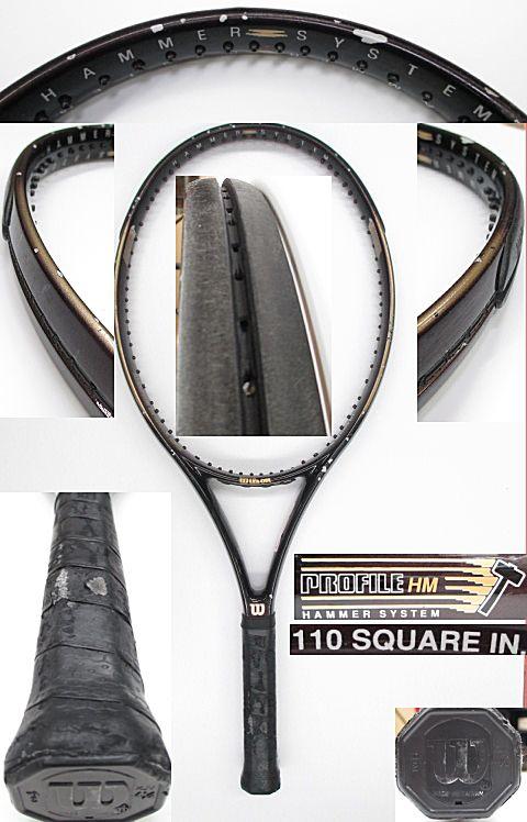 【中古 テニスラケット】 W0831 ウイルソン プロファイルHM