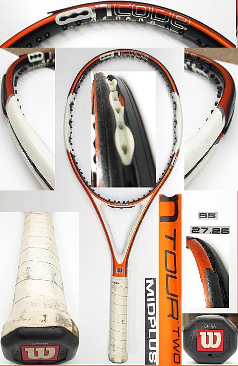 【中古 テニスラケット】 W0847 ウイルソン nツアーTWO/95