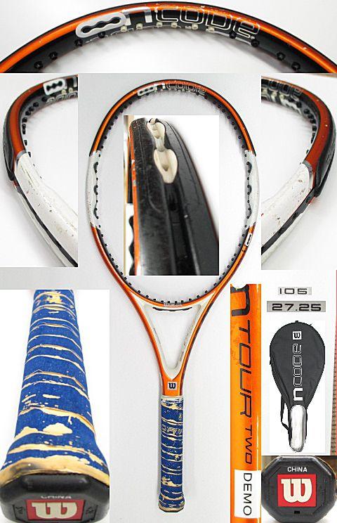 【中古 テニスラケット】 W0849 ウイルソン nツアーTWO/105