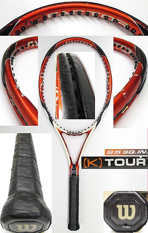 【中古 テニスラケット】 W0850 ウイルソン [K]ツアー95