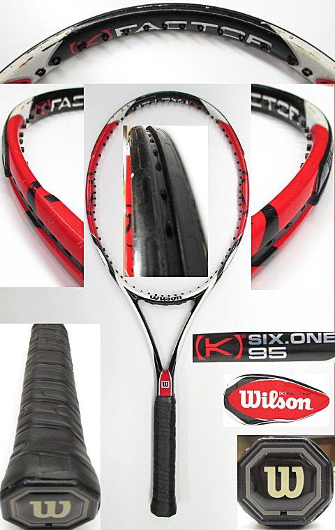 【中古 テニスラケット】 W0852 ウイルソン [K]SIX-ONE95