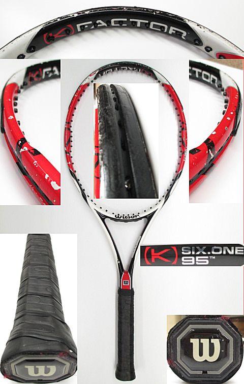 【中古 テニスラケット】 W0853 ウイルソン [K]SIX-ONE95