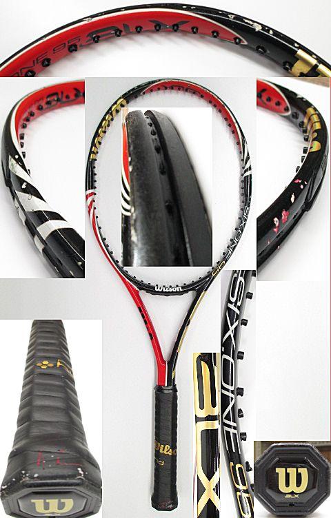 【中古 テニスラケット】 W0855 ウイルソン SIX.ONE BLX95