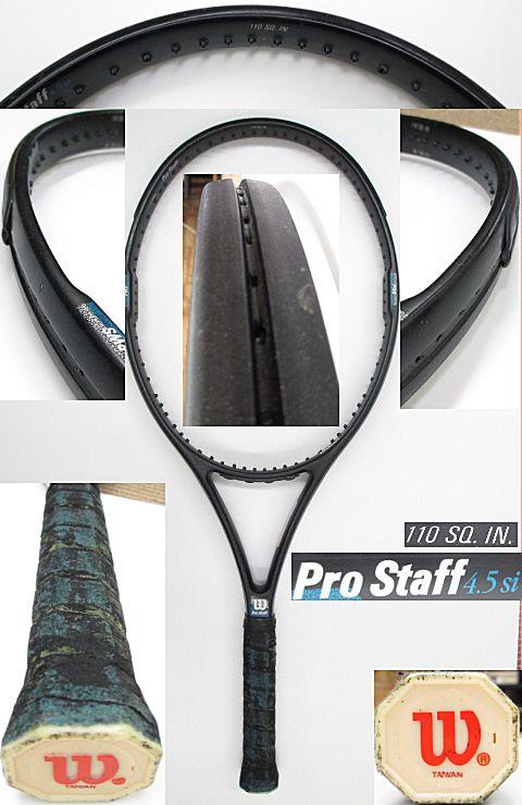 【中古 テニスラケット】 W0860 ウイルソン プロスタッフ4.5Si