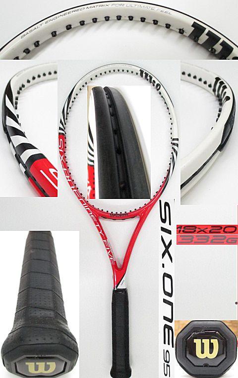 【中古 テニスラケット】 W0865 ウイルソン SIX.ONE95 US(18×20)