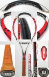 【中古テニスラケット】ウイルソン [K]SIX-ONEツアー