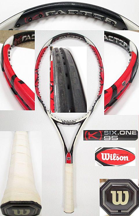 【中古 テニスラケット】 W0885 ウイルソン [K]SIX-ONE95