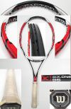 【中古テニスラケット】ウイルソン  [K]SIX.ONE95