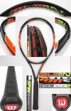【中古テニスラケット】ウイルソン バーン100S