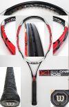 【中古テニスラケット】ウイルソン  [K]SIX-ONE105