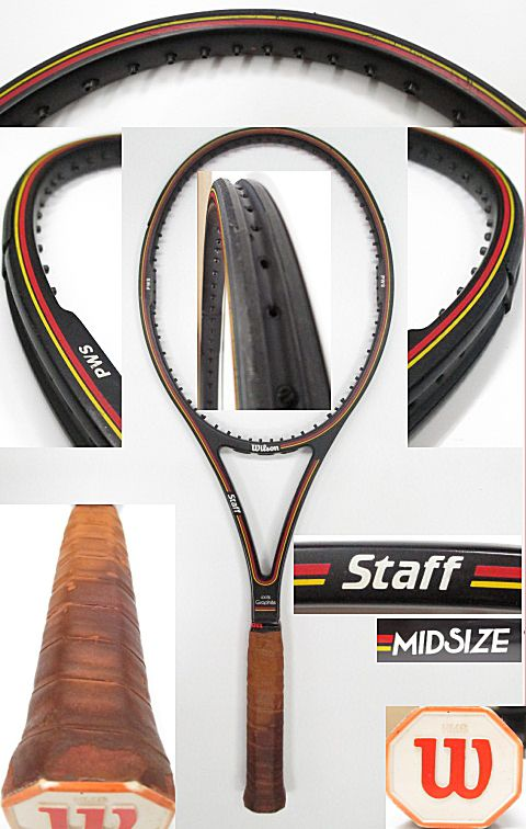 【中古 テニスラケット】 W0899 ウイルソン スタッフミッド