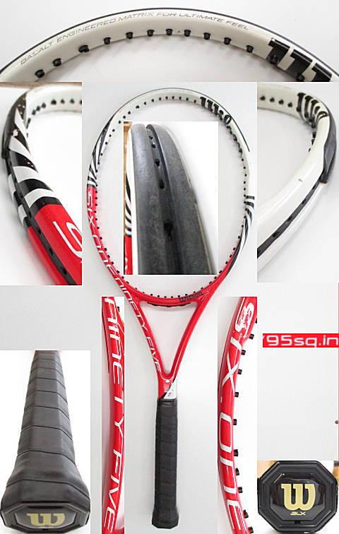 【中古 テニスラケット】 W0922 ウイルソン SIX.ONE95(16×18)