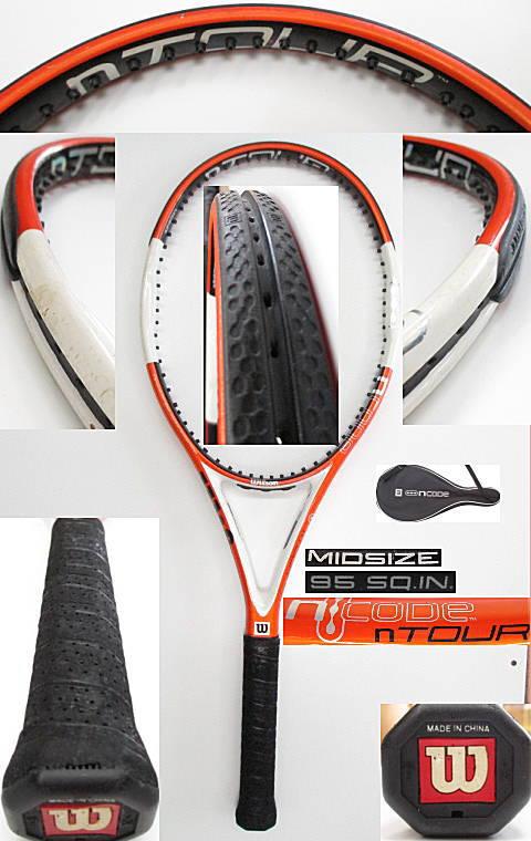 【中古 テニスラケット】 W0927 ウイルソン nツアー95
