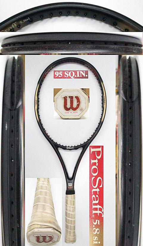 【中古 テニスラケット】 W0971 ウイルソン プロスタッフ5.8Si 95