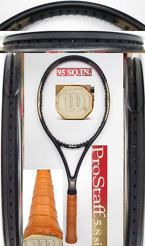 【中古 テニスラケット】 W0972 ウイルソン プロスタッフ5.8Si 95