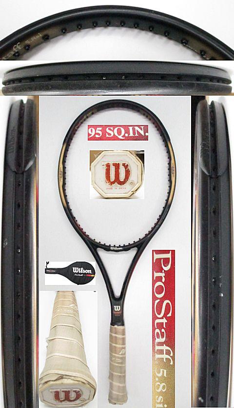 【中古 テニスラケット】 W0973 ウイルソン プロスタッフ5.8Si 95