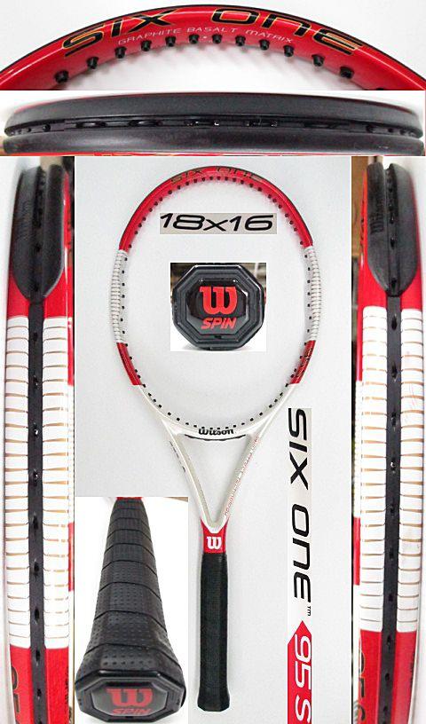 【中古 テニスラケット】 W0978 ウイルソン SIX.ONE95S