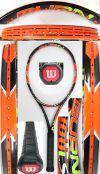 【中古テニスラケット】ウイルソン バーン100LS