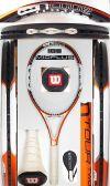 【中古テニスラケット】ウイルソン  nツアーTWO105