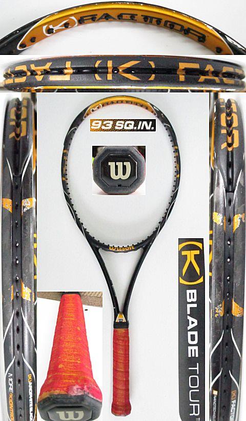【中古 テニスラケット】 W0993 ウイルソン [K]ブレードツアー93