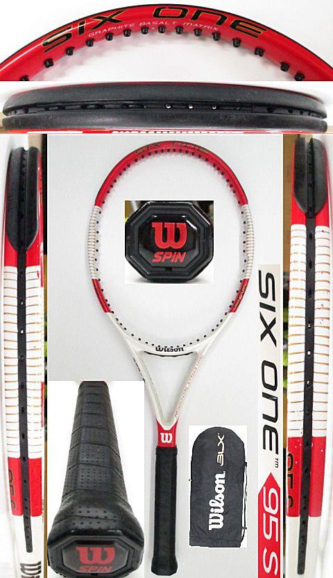 【中古 テニスラケット】 W1006 ウイルソン SIX.ONE95S
