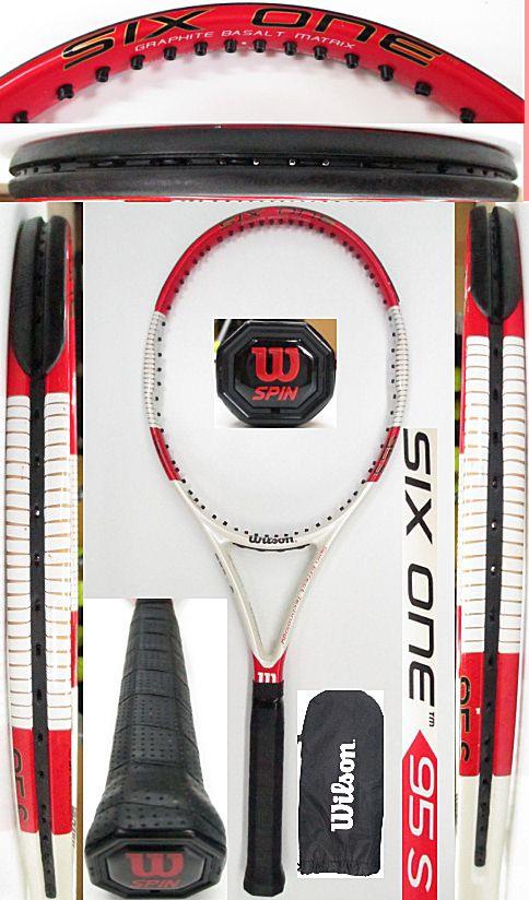 【中古 テニスラケット】 W1007 ウイルソン SIX.ONE95S