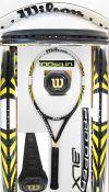 【中古テニスラケット】ウイルソン  プロオープンBLX100